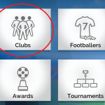 2. Select Clubs