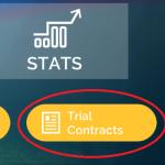 3. Click Trial Contracts in bottom right