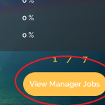 3. Click Manager Jobs button in bottom right.